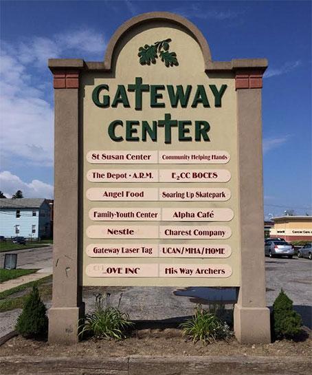 the Gateway Center