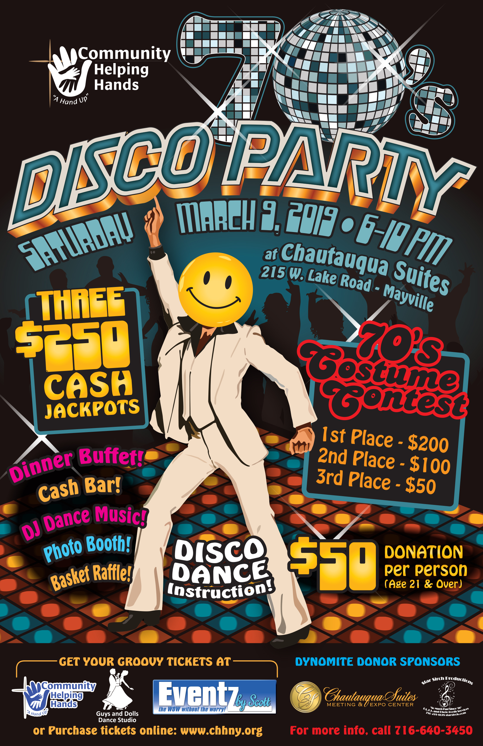 70s Disco Party Fundraiser - Community Helping Hands